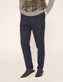 ARMANI EXCHANGE PLEAT-FRONT TROUSER PANT Dress Pant Man f
