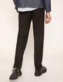 ARMANI EXCHANGE PLEAT-FRONT TROUSER PANT Smart Pant Man e