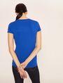 ARMANI EXCHANGE STUD TAPE LOGO TEE Logo T-shirt Woman e