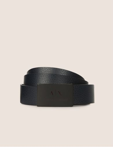 MATTE LOGO PLAQUE BELT
