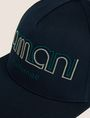 ARMANI EXCHANGE DUAL LINE EMBROIDERED LOGO HAT Hat Man d