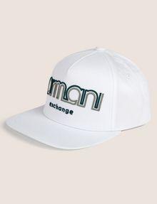 ARMANI EXCHANGE DUAL LINE EMBROIDERED LOGO HAT Hat [*** pickupInStoreShippingNotGuaranteed_info ***] f
