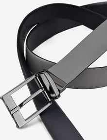 ARMANI EXCHANGE REVERSIBLE TEXTURED BELT Belt Man e