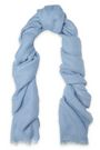 BRUNELLO CUCINELLI Frayed brushed-gauze scarf