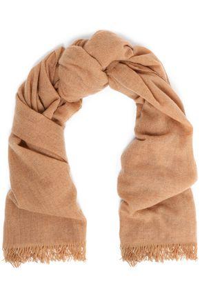 BRUNELLO CUCINELLI Fringed cashmere scarf
