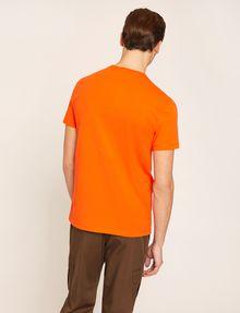 ARMANI EXCHANGE EQUAL SIGN SLIM LOGO TEE Logo T-shirt Man e