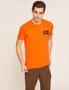 ARMANI EXCHANGE T-SHIRT SLIM CON LOGO T-shirt con logo [*** pickupInStoreShippingNotGuaranteed_info ***] f