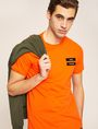 ARMANI EXCHANGE EQUAL SIGN SLIM LOGO TEE Logo T-shirt Man a