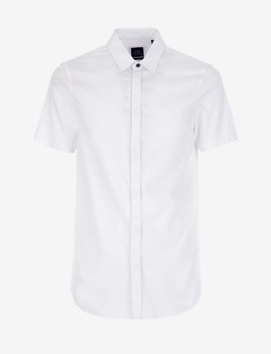 SLIM-FIT SHORT-SLEEVE CLASSIC STRETCH SHIRT