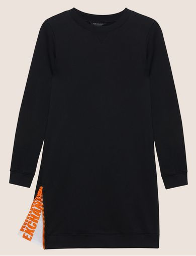 ZIP DETAIL SWEATSHIRT TUNIC