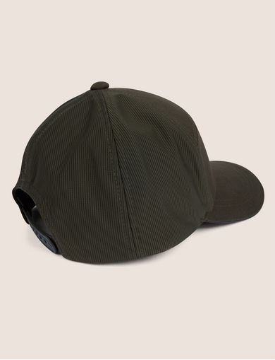 PEBBLED PATCH LOGO HAT
