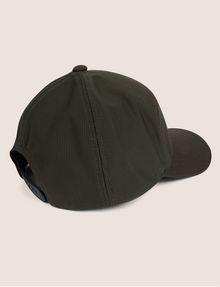 ARMANI EXCHANGE PEBBLED PATCH LOGO HAT Hat Man r
