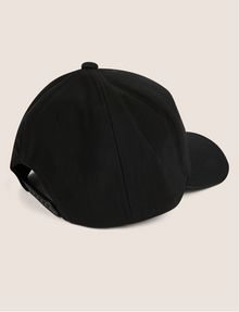 ARMANI EXCHANGE PEBBLED PATCH LOGO HAT Hat [*** pickupInStoreShippingNotGuaranteed_info ***] r