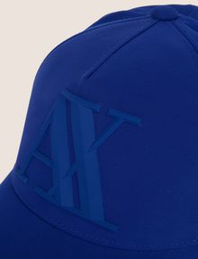 ARMANI EXCHANGE RUBBER LOGO HAT Hat [*** pickupInStoreShippingNotGuaranteed_info ***] d