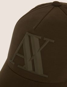 ARMANI EXCHANGE RUBBER LOGO HAT Hat Man d