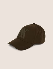 ARMANI EXCHANGE RUBBER LOGO HAT Hat [*** pickupInStoreShippingNotGuaranteed_info ***] f