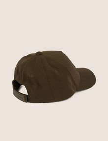 ARMANI EXCHANGE RUBBER LOGO HAT Hat [*** pickupInStoreShippingNotGuaranteed_info ***] r