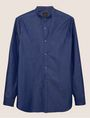 ARMANI EXCHANGE REGULAR FIT BAND COLLAR DOT SHIRT Printed Shirt Man r