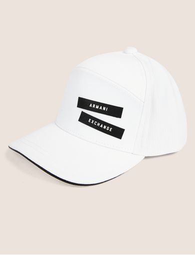 PEBBLED PATCH LOGO HAT