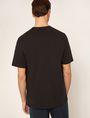 ARMANI EXCHANGE TACTICAL TAPE LOOSE LOGO TEE Graphic T-shirt Man e