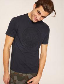 ARMANI EXCHANGE T-SHIRT CON LOGO CIRCOLARE IMPRESSO T-shirt con logo [*** pickupInStoreShippingNotGuaranteed_info ***] a