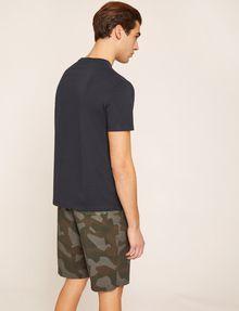 ARMANI EXCHANGE T-SHIRT CON LOGO CIRCOLARE IMPRESSO T-shirt con logo [*** pickupInStoreShippingNotGuaranteed_info ***] e