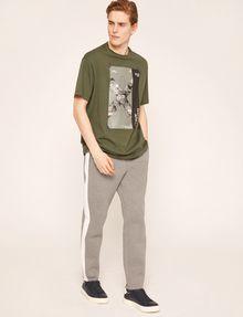ARMANI EXCHANGE TACTICAL TAPE LOOSE LOGO TEE Logo T-shirt Man d