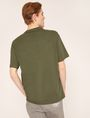 ARMANI EXCHANGE TACTICAL TAPE LOOSE LOGO TEE Graphic T-shirt Man e