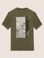 ARMANI EXCHANGE TACTICAL TAPE LOOSE LOGO TEE Graphic T-shirt Man r