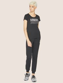 ARMANI EXCHANGE T-SHIRT MIT USED- UND UMGEDREHTEM LOGO Logo-T-Shirt [*** pickupInStoreShipping_info ***] d