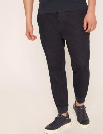 JEANS STILE JOGGERS COLOR INDACO SCURO