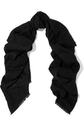 BRUNELLO CUCINELLI Frayed gauze scarf