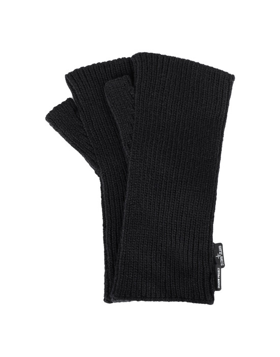 Gloves N03A6 HAND GAITER (WINTER COTTON) STONE ISLAND SHADOW PROJECT - 0