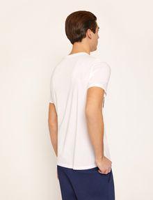ARMANI EXCHANGE T-SHIRT SLIM CON STAMPA DI PAESAGGIO URBANO E LOGO EFFETTO STRAPPATO T-shirt senza logo Uomo e