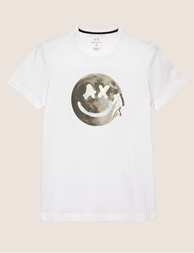 CAMISETA AJUSTADA CON LOGOTIPO SMILES FROM SPACE
