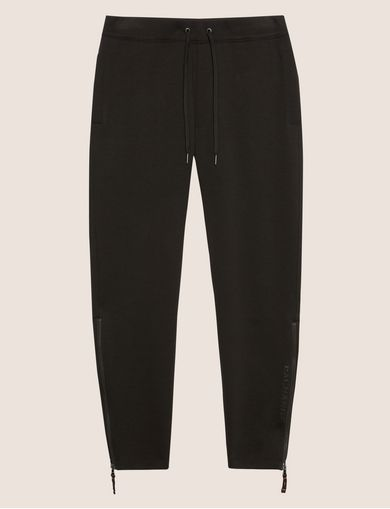 LOGO PRINT ZIP-UP SWEATPANT