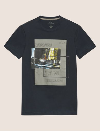 CAMISETA AJUSTADA CON LOGOTIPO BLURRED TRAFFIC