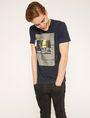 ARMANI EXCHANGE BLURRED TRAFFIC SLIM LOGO TEE Graphic T-shirt Man b