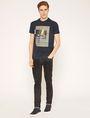 ARMANI EXCHANGE T-SHIRT SLIM CON STAMPA URBANA E LOGO EFFETTO SFOCATO T-shirt senza logo Uomo d