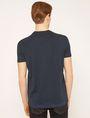 ARMANI EXCHANGE T-SHIRT SLIM CON STAMPA URBANA E LOGO EFFETTO SFOCATO T-shirt senza logo Uomo e