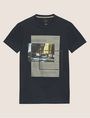 ARMANI EXCHANGE BLURRED TRAFFIC SLIM LOGO TEE Graphic T-shirt Man r