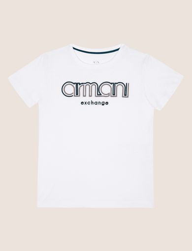 BOYS SLIM-FIT EMBROIDERED LOGO TEE