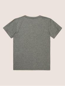 ARMANI EXCHANGE BOYS SLIM-FIT EMBROIDERED LOGO TEE Logo T-shirt Man r