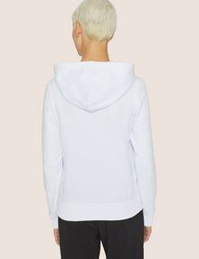 ARMANI EXCHANGE A|X EMOJI LOGO HOODIE Fleece Top Woman e