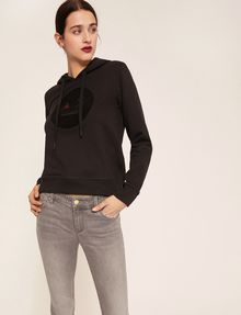 ARMANI EXCHANGE A|X EMOJI LOGO HOODIE Sweatshirt Woman a