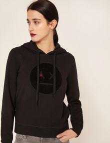 ARMANI EXCHANGE A|X EMOJI LOGO HOODIE Sweatshirt Woman f