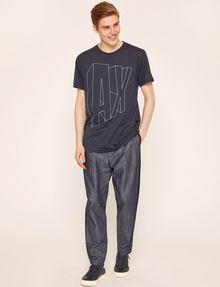 ARMANI EXCHANGE COMIC CAPTION LOOSE LOGO TEE Logo T-shirt Man d