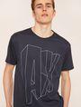 ARMANI EXCHANGE COMIC CAPTION LOOSE LOGO TEE Logo T-shirt Man b