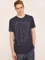 ARMANI EXCHANGE COMIC CAPTION LOOSE LOGO TEE Logo T-shirt Man f