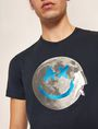 ARMANI EXCHANGE SMILES FROM SPACE SLIM LOGO TEE Logo T-shirt Man b